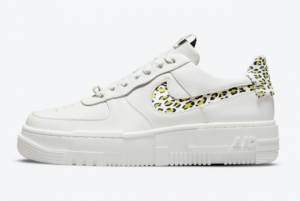 New Nike Air Force 1 Pixel Leopard White Leopard Suede Print 2021 For Sale DH9632-101