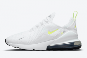 New Nike Air Max 270 White Volt 2021 For Sale DN4922-100