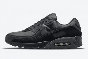 New Nike Air Max 90 All-Black 2021 For Sale DH9767-001