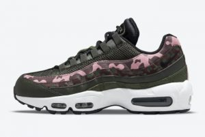 New Nike Air Max 95 Camo Pink Olive 2021 For Sale DN5462-200