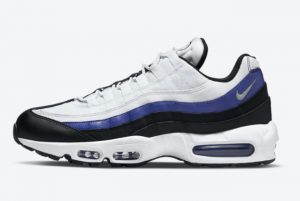 New Nike Air Max 95 Persian Violet White Black-Persian Violet 2021 For Sale DO5960-100