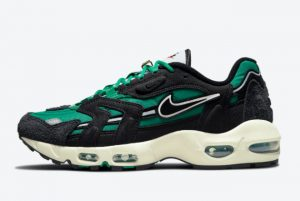 New Nike Air Max 96 II First Use Green Black 2021 For Sale DB0245-300