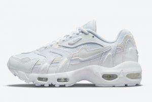 New Nike Air Max 96 II Triple White White White-White 2021 For Sale DM2361-100