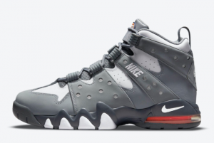 New Nike Air Max CB 94 Cool Grey Cool Grey White-Total Orange 2021 For Sale DM8319-001