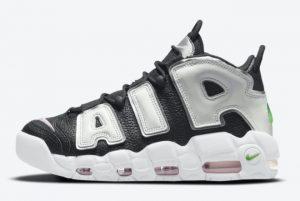 New Nike Air More Uptempo Black White-Silver 2021 For Sale DN8008-001