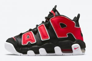 new nike air more uptempo gs black university red white 2021 for sale dm3190 001 300x201