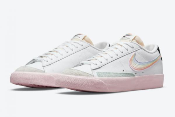 New Nike Blazer Low Be True 2021 For Sale DD3034-100 -2
