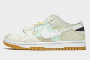 New Nike Dunk Low Scrap Sea Glass 2021 For Sale DB0500-100