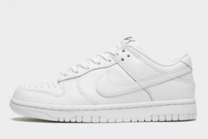 New Nike Dunk Low Triple White White White-White 2021 For Sale