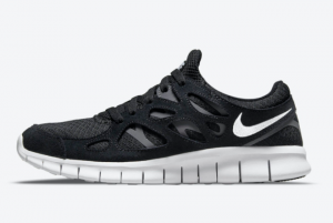 New Nike Free Run 2 Black/White-Dark Grey 2021 For Sale 537732-004