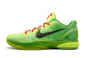 New Nike Kobe 6 Grinch 2021 For Sale 429659-701
