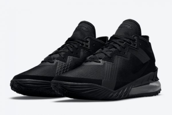 New Nike LeBron 18 Low Zero Dark 23 2021 For Sale CV7562-004-1
