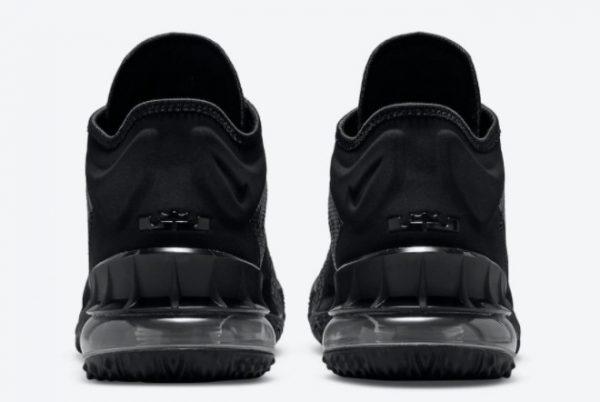 New Nike LeBron 18 Low Zero Dark 23 2021 For Sale CV7562-004-2