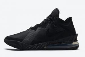 New Nike LeBron 18 Low Zero Dark 23 2021 For Sale CV7562-004