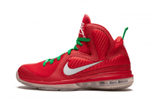New Nike LeBron 9 Christmas Sport Red/Reflective Silver-White-Lucky Green 2021 For Sale 469764-602