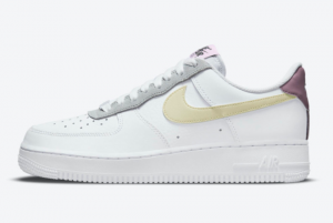nike air force 1 low white yellow purple light pink 2021 dn4930 100 300x201