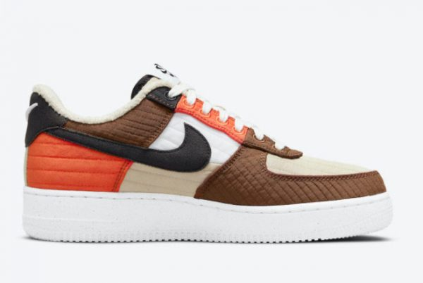 Cheap Nike Air Force 1 Low LXX Toasty Rattan Black-Pecan-Summit White 2021 For Sale DH0775-200-1