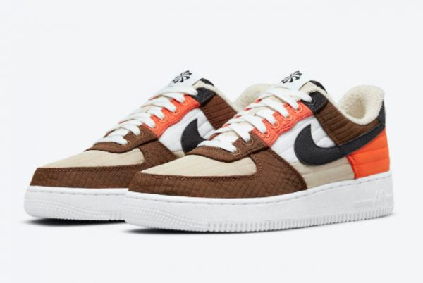 Cheap Nike Air Force 1 Low LXX Toasty Rattan Black-Pecan-Summit White 2021 For Sale DH0775-200-2