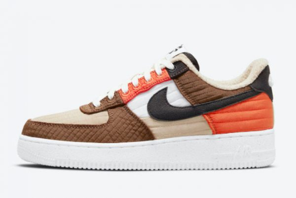 Cheap Nike Air Force 1 Low LXX Toasty Rattan Black-Pecan-Summit White 2021 For Sale DH0775-200