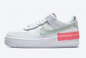Cheap Nike Air Force 1 Shadow Jade Smoke White/Jade Smoke-Seafoam-Archeo Pink CI0919-112