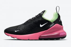 Cheap Nike Air Max 270 Wmns Do You Black Neon Green-Pink 2021 For Sale DM8139-001
