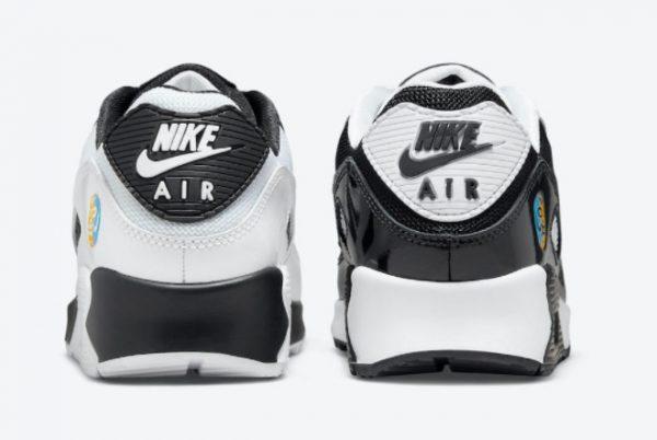 Cheap Nike Air Max 90 Lucha Libre White Black 2021 For Sale DM6178-010-3