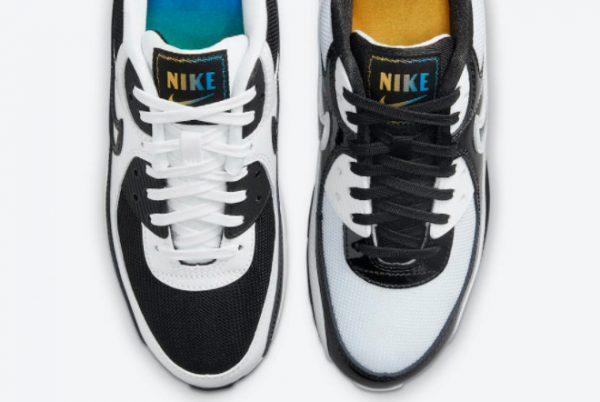 Cheap Nike Air Max 90 Lucha Libre White Black 2021 For Sale DM6178-010-4