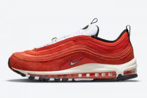 Cheap Nike Air Max 97 First Use Blood Orange 2021 For Sale DB0246-800