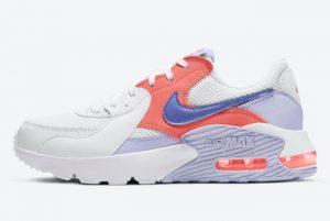 Cheap Nike Air Max Excee White/Pure Violet-Magic Ember-Sapphire CD5432-115