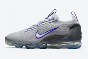 Cheap Nike Air VaporMax 2021 Grey Blue For Sale DH4085-002