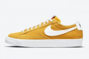 Cheap Nike Blazer Low Speed Yellow/White DA7254-700
