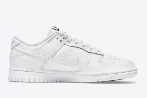 Cheap Nike Dunk Low Triple White White White-White 2021 For Sale DD1503-109-1