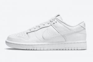 Cheap Nike Dunk Low Triple White White White-White 2021 For Sale DD1503-109