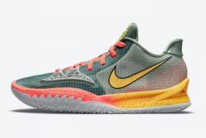 Cheap Nike Kyrie Low 4 Sunrise 2021 For Sale CW3985-301