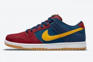 Cheap Nike SB Dunk Low Barcelona 2021 For Sale DJ0606-400