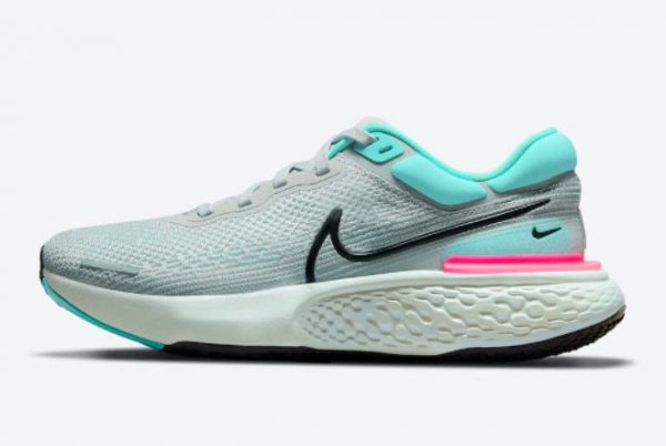 Cheap Nike ZoomX Invincible Run Flyknit South Beach Grey Fog 2021 For Sale CT2228-003