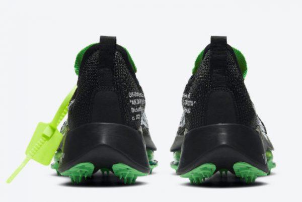 Cheap Off-White x Nike Air Zoom Tempo NEXT% Black White-Scream Green 2021 For Sale CV0697-001-3