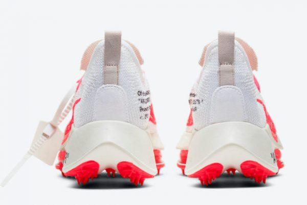 Cheap Off-White x Nike Air Zoom Tempo NEXT% White Black-Solar Red 2021 For Sale CV0697-100-3