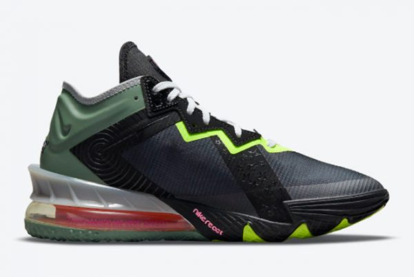 Cheap Space Jam x Nike LeBron 18 Low Bugs Bunny x Marvin The Martian 2021 For Sale CV7562-005-1