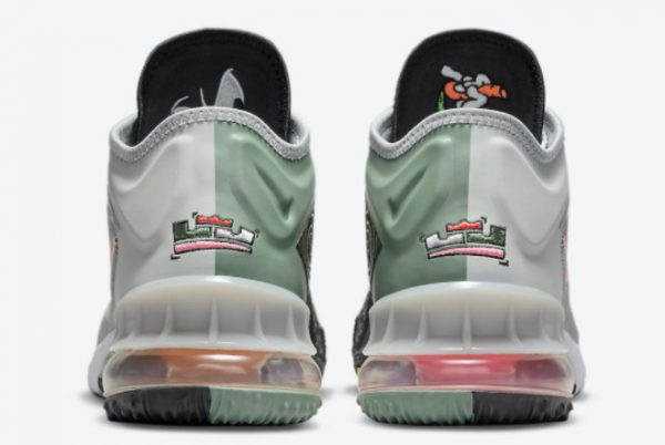 Cheap Space Jam x Nike LeBron 18 Low Bugs Bunny x Marvin The Martian 2021 For Sale CV7562-005-3