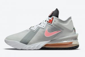 Cheap Space Jam x Nike LeBron 18 Low Bugs Bunny x Marvin The Martian 2021 For Sale CV7562-005
