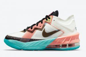 Cheap Space Jam x Nike LeBron 18 Low GS Lola Bunny 2021 For Sale DJ3760-115