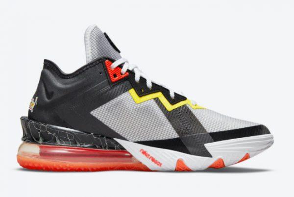 Cheap Space Jam x Nike LeBron 18 Low Sylvester x Tweety 2021 For Sale CV7562-103-1