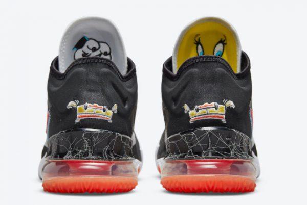 Cheap Space Jam x Nike LeBron 18 Low Sylvester x Tweety 2021 For Sale CV7562-103-3