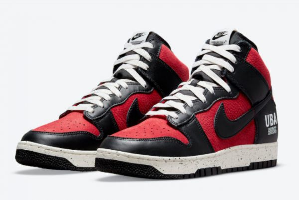 Cheap Undercover x Nike Dunk High UBA Gym Red White-Black 2021 For Sale DD9401-600-2