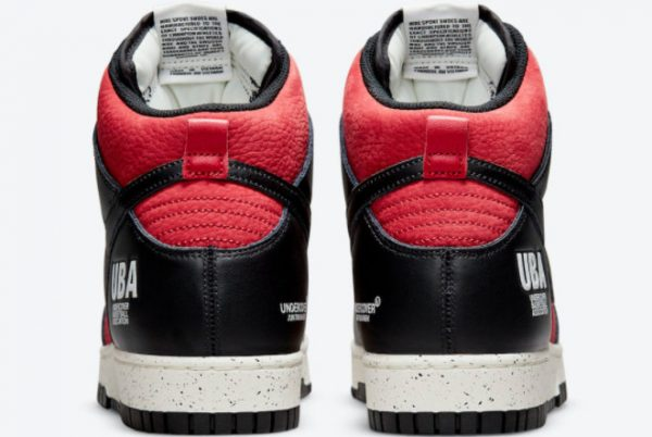 Cheap Undercover x Nike Dunk High UBA Gym Red White-Black 2021 For Sale DD9401-600-3
