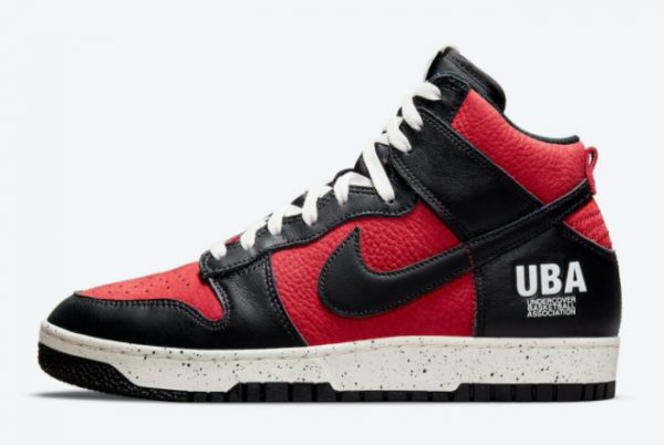 Cheap Undercover x Nike Dunk High UBA Gym Red White-Black 2021 For Sale DD9401-600