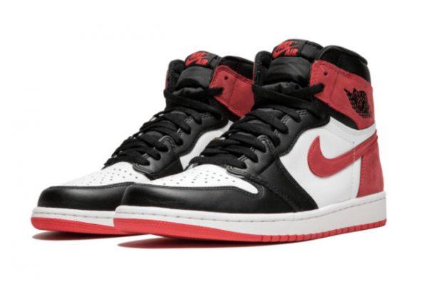 Latest Air Jordan 1 High OG Track Red Summit White Track Red-Black 2021 For Sale 555088-112-1