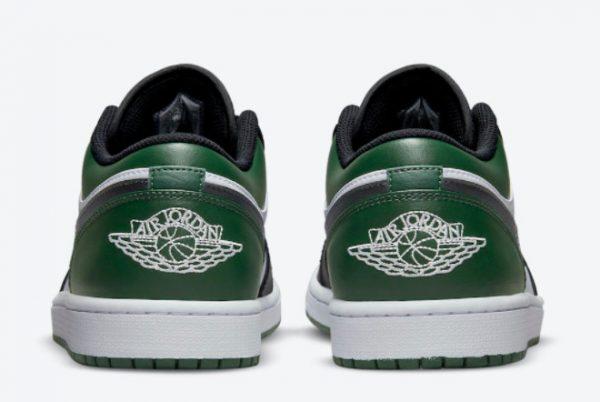 Latest Air Jordan 1 Low Green Toe 2021 For Sale 553558-371-3