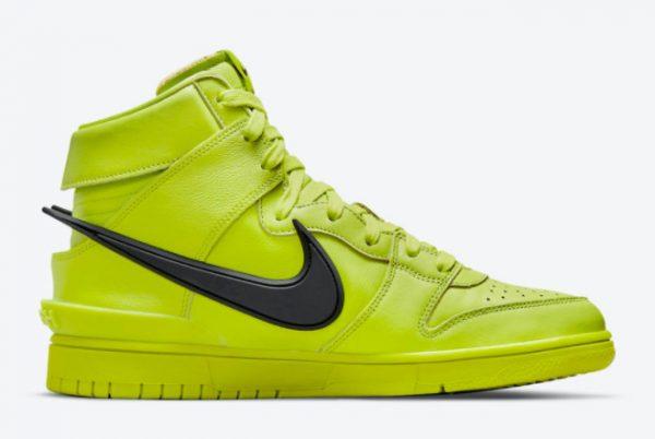 Latest Ambush x Nike Dunk High Flash Lime Atomic Green 2021 For Sale CU7544-300-1